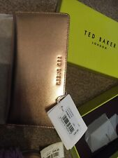 Ted Baker Womans Purse Brand New Aurial Rose Gold Leather RRP £85.00!!!
