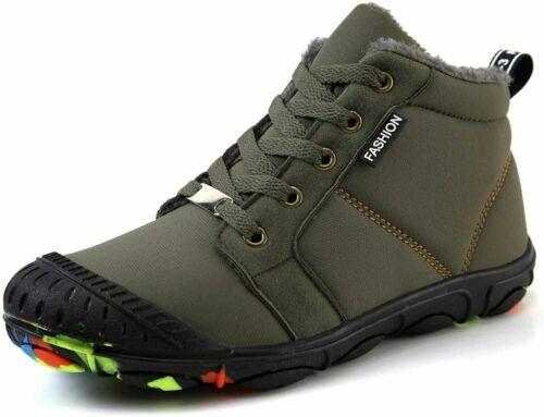 Kinder Schuhe Stiefel Stiefeletten für Jungen Boots Warme Winterschuhe Gr 31-39