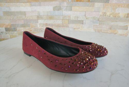 Chaussures Forme Rouge Gr Ballet Chaussures Uvp 37 タ 485 5 Zanotti I26123 Nouvelle Giuseppe Slipper mnPy8wOvN0