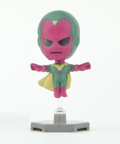 Vision Marvel The Avengers 2-Inch Buildable Bobble Head Mini Figure