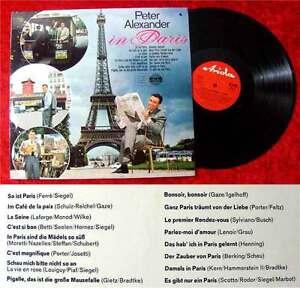 LP Peter Alexander in Paris (Ariola 74 605 IU) D 1966