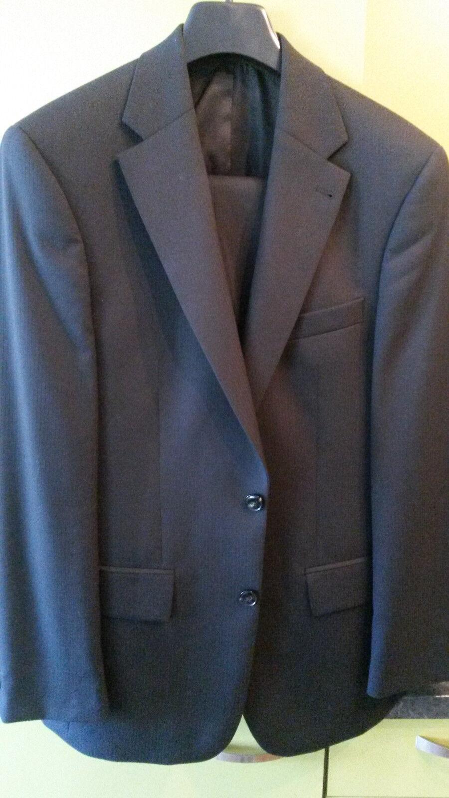 Herren Anzug M 1x getragen schwarz 46 Guabello Barutti TOP