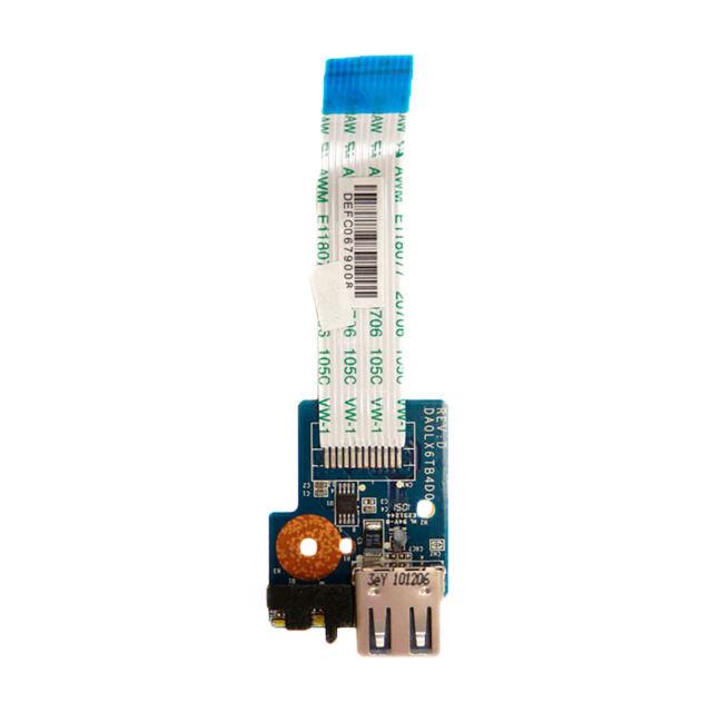 Modulo USB Cable Hp DV6 USB Board Cable DA0LX6TB4D0 REV: D 606145-001 Usado