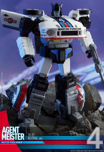 NUOVO Transformers ZETA GIOCATTOLI ZETA EX-03 JAZZY PISTOLE MITRAGLIATRICI JAZZ Figura in magazzino