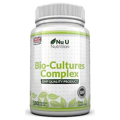 Probiotics 180 Capsules 10 Billion Forming CFU's 100% Money Back Guarantee