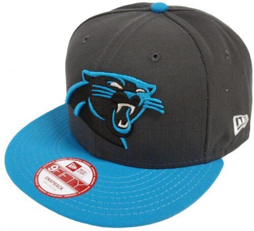 NEW Era NFL Carolina Panthers GRAPHITE Snapback Cap S M 9 FIFTY Limited Edition