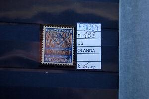 FRANCOBOLLI-OLANDA-USATI-N-198-F18369
