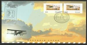 SINGAPORE-2019-100-YEARS-OF-FIRST-AIRMAIL-POSTAGE-LABEL-MACHINE-NO-S059-COVER