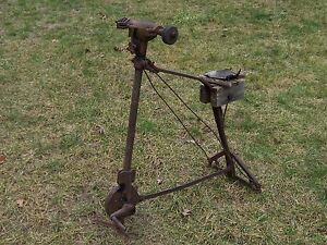 Antique Vintage Old Tools Knife Sharpener Blacksmith