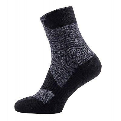 2019 Ultimo Disegno Sealskinz Walking Sottile Calze Alla Caviglia-impermeabile-grigio/nero-mostra Il Titolo Originale