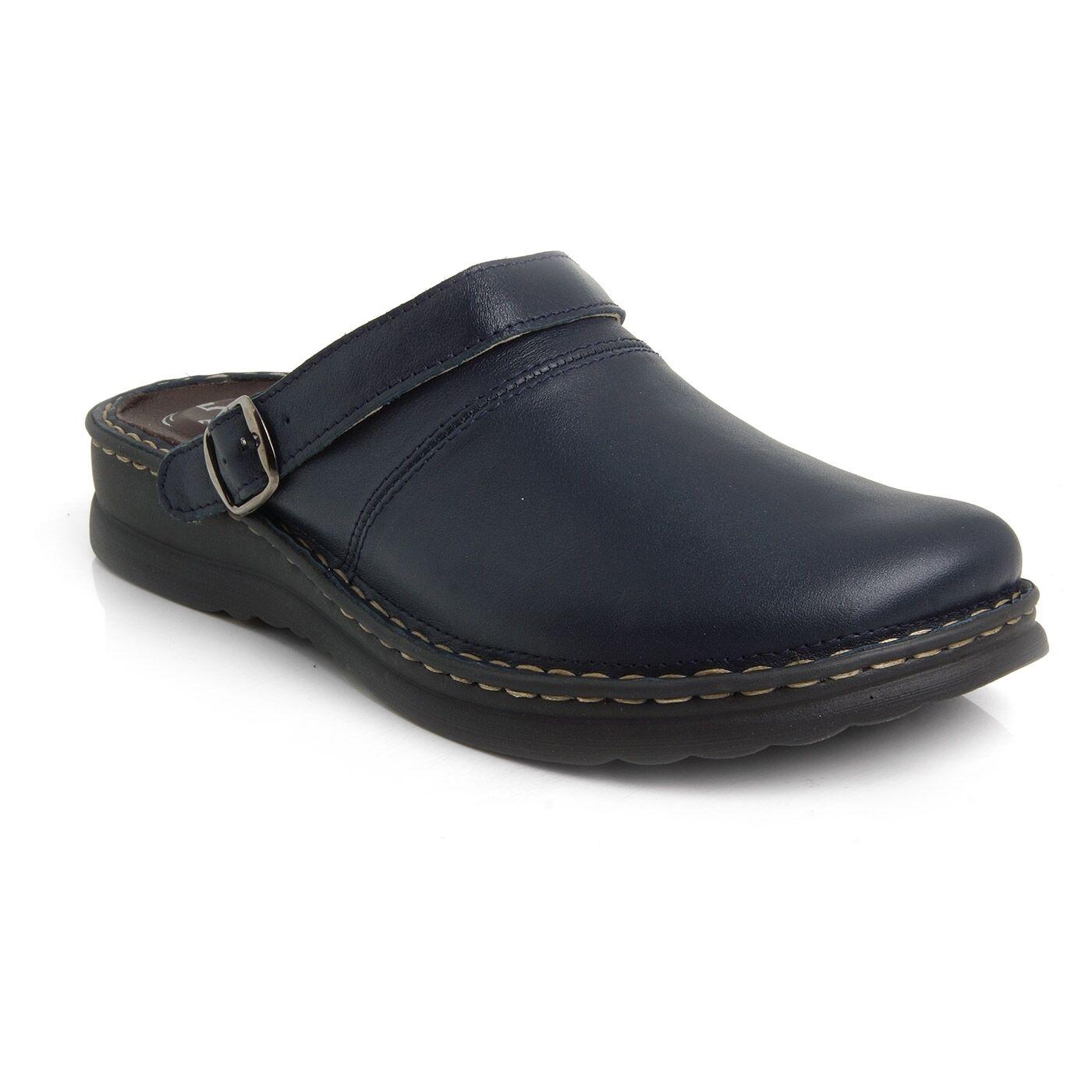 Batz ZORAN ZORAN Batz 5-Zones Navy Blau   Herren Leder Slip On Mules Clogs Sandales Schuhes UK 4f52ef