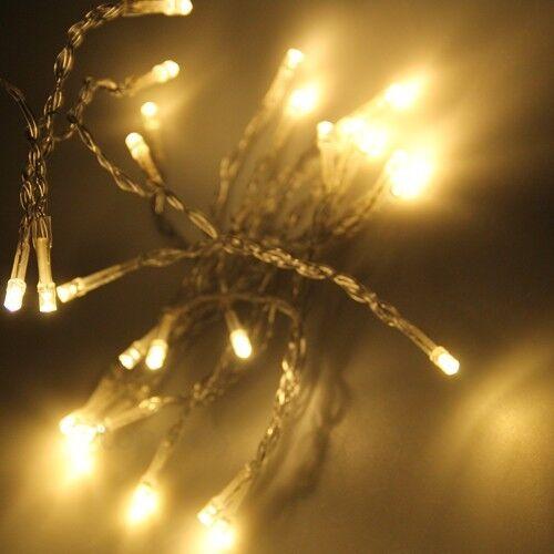 Noël LED 20//40 Fée Mariage Haloween lumières 2m 4m /& à batterie