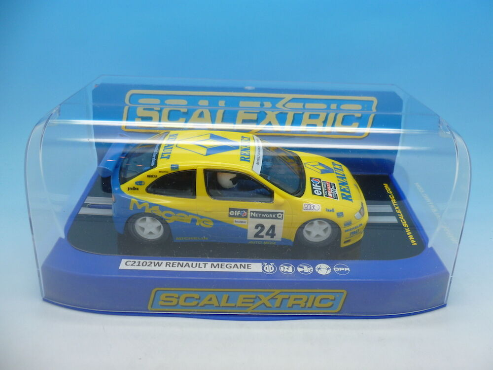 Scalextric C2102W Renault Megane Rallye, from set C1018 No24