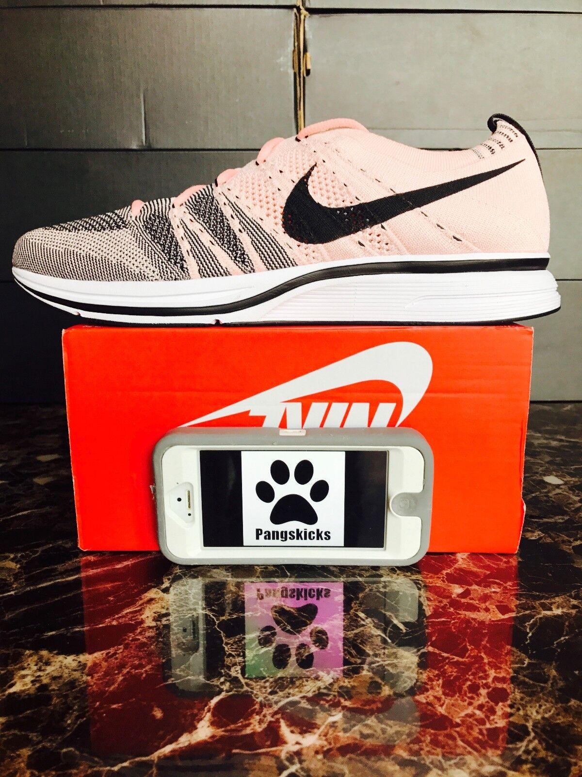 Nike Flyknit White Trainer Sunset Tint Black White Flyknit AH8396-600 Size 13 4617fd