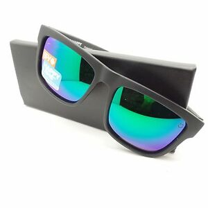 46d0d74152 Image is loading Spy-Optics-Discord-Matte-Black-Green-Spectra-Polarized-
