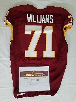 #71 Trent Williams of Redskins NFL Game Worn & Unwashed Jersey vs. Giants WCOA | eBay