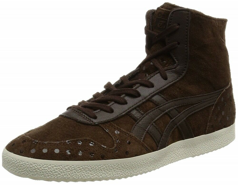 asics Japan Onitsuka Tiger COURT HIINA THL368 Dark brown Women's