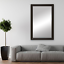 thumbnail 26 - Framed Wall Mirror - Black, White, Espresso/Brown, Nickel