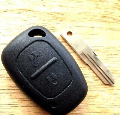 Adecuado para Renault tráfico transpondedor Master Remoto Clave Fob caso Kit De Reparación
