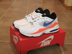 size 40 490cb c22d7 Image is loading Nike-Air-Max-93-White-Blue-Nebula-Total-