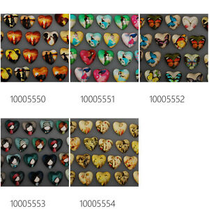 10pcs 30*40mm Oval Cartoon Photo Glass Cabochons Dome Cameo Jewelry DIY 10029951