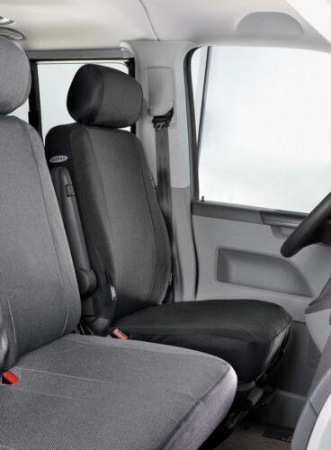 Einzelsitz vorn ab 07//2015 Passform Stoff Transporter Sitzbezüge VW T6