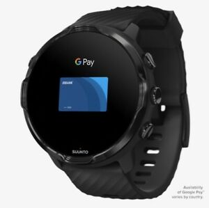SUUNTO 7 All Black GPS Sports Watch w/ Google SS050381000