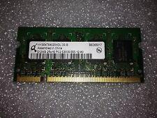 Memoria SoDimm DDR2 Qimonda HYS64T64020HDL-3S-B 512MB PC2-5300 667MHz CL5 200