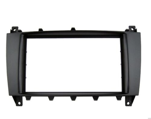 Car Stereo Radio Frame Fascia Panel Kit 2 Din For Mercedes Benz C//CLK//G//Class