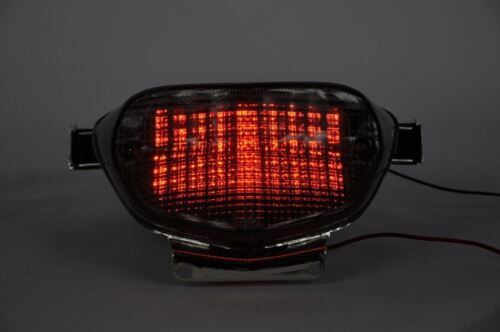 Brake Tail Light LED Clear with Integrated Turn Signal Suzuki 2000-2003 GSXR750