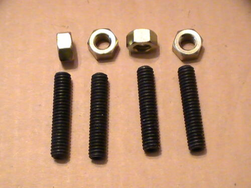 Mopar Chevy Ford Carburetor Stud Kit Grade 8 Bolts /& Nuts