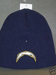 Image is loading NFL-San-Diego-Chargers-Winter-Knit-Hat-NEW- 93fcc6bcab4