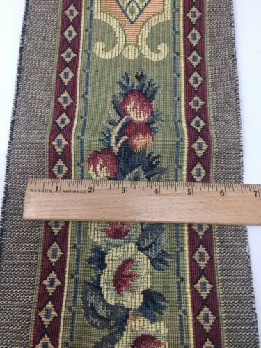 "Tapestry Jacquard Woven Trim Border Heavy Cotton 6-1//2/"" Wide Sold by Yard"