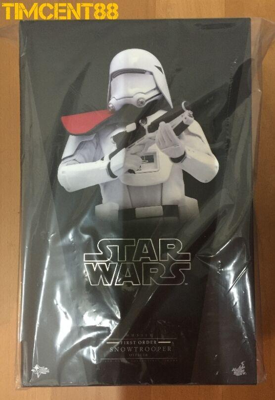 listo Hot Toys MMS322 Star Wars Force despierta oficial de primer orden Snowtrooper