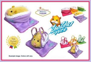Zhu-Zhu-Pets-Hamster-Beds-Blankets-amp-Carriers-Accessories-Sets-Choose-Your-Fave
