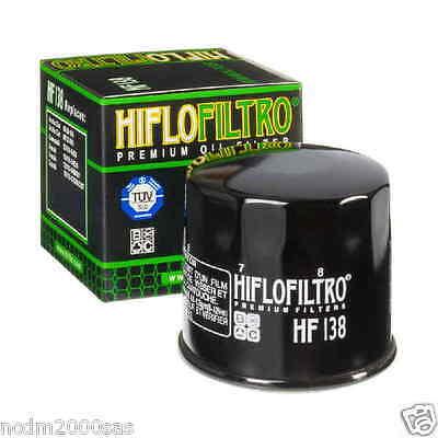 FILTRO OLIO HIFLO HF138 SUZUKI GSX R 1000 ANNO 2010