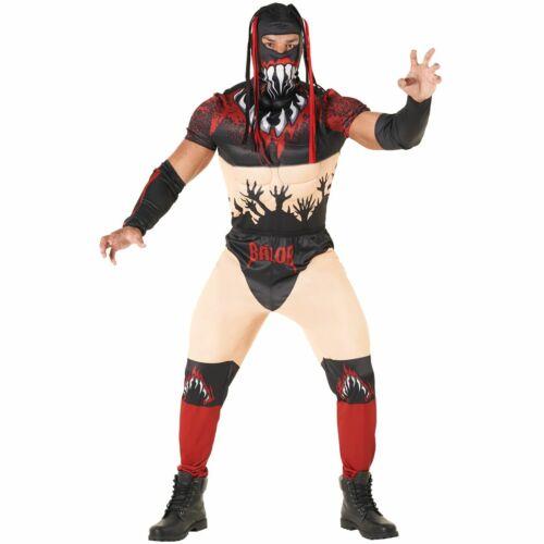 Licenced WWE Finn Balor the Demon Wrestler Fancy Dress Costume Adult Wrestling