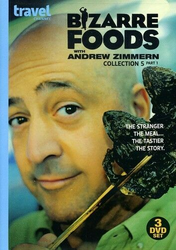 Bizarre Foods With Andrew Zimmern: Collection 5 Part 1 [New DVD]