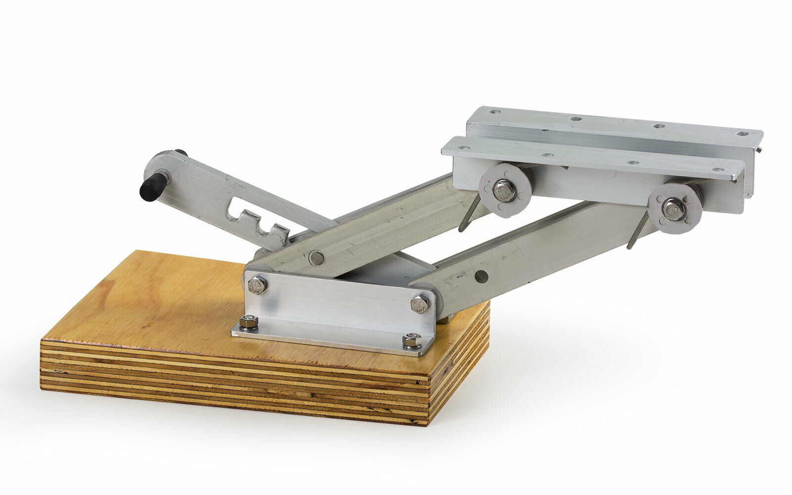 Außenborder-Halterung Positionen Stiefel Motor-Halter 15 PS 4 Positionen Außenborder-Halterung verstellbar Alu Holz 31cdf3