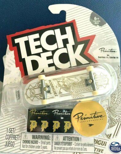 Neuf tech deck primitive Skate-boards Fingerboards ultra rare Rodriguez série 11