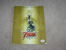 THE LEGEND OF ZELDA SKYWARD SWORD STRATEGY GUIDE..**NO POSTER**BRAND NEW**
