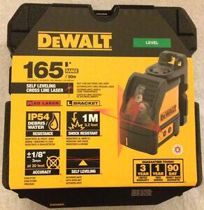 New-Dewalt-DW088K-Self-Levelling-Line-Laser-Horizontal-amp-Vertical-Lines-NIB