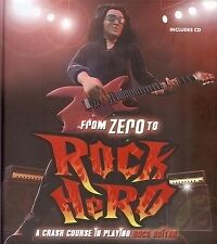 FROM ZERO TO ROCK HERO Guitar Course Edwards + CD