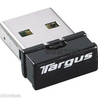Targus Acb10us1 Bluetooth Dongle Usb 2.0 Ultra Mini Wireless Adapter
