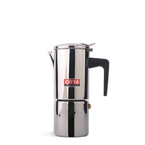 Image Is Loading Citta Coffee Moka Pot 2cup Stainless Steel Espresso