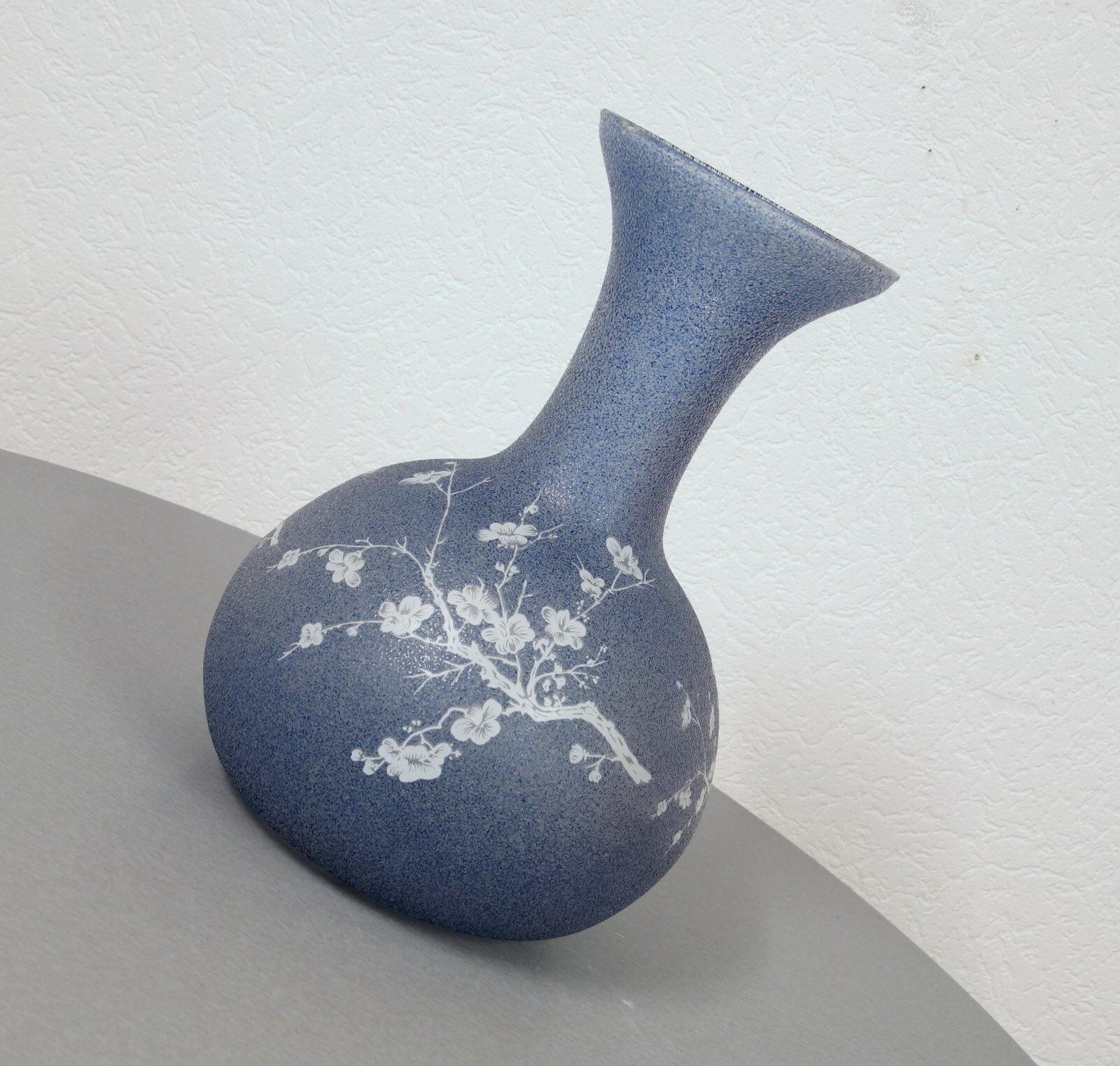 Granulés verre design vase pot Tischvase florales Design J. Vintage 60er J. Design e7fe1e