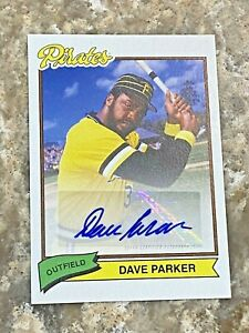 2020-Topps-X-Super-70-039-s-Baseball-AUTO-Dave-Parker-32A-Pittsburgh-Pirates