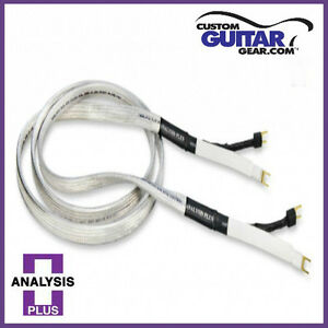 Analysis Plus Chocolate Oval 12//2 Speaker Cables 8ft Length PAIR
