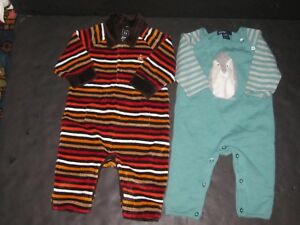 d2f077168b4a Baby Boy Newborn Up to 3 Months GAP Rompers Jumpsuits Clothes Lot