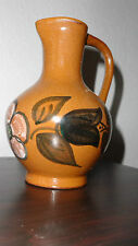 Vase Keramik Krug Krugform florales Muster sehr schön